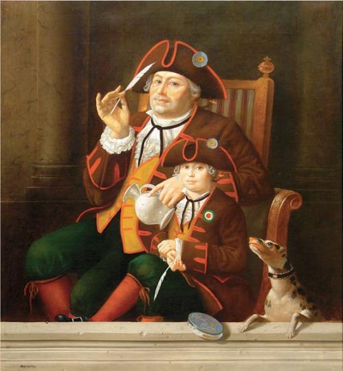 Gianduja_e_Giandujotto',_Walther_Jervolino,_oil_on_canvas,_60x65_cm.jpg