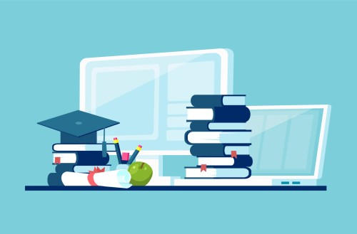 Vector concept for distance education